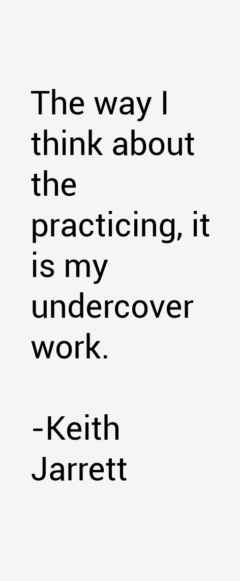 Keith Jarrett Quotes