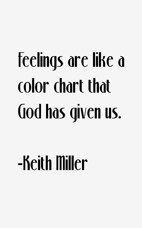 Keith Miller Quotes