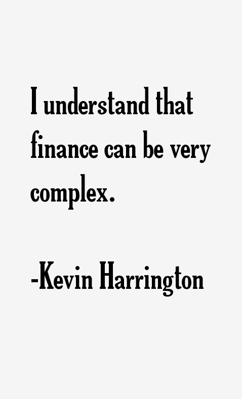 Kevin Harrington Quotes