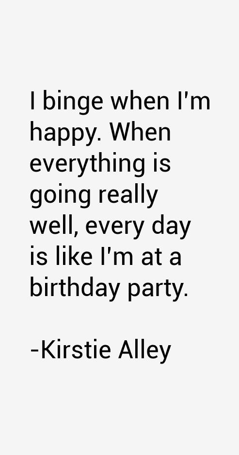 Kirstie Alley Quotes