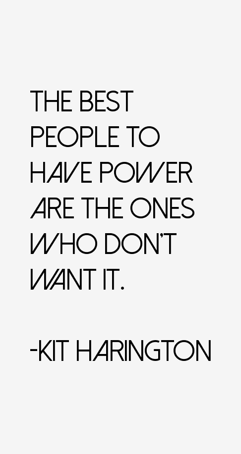 Kit Harington Quotes