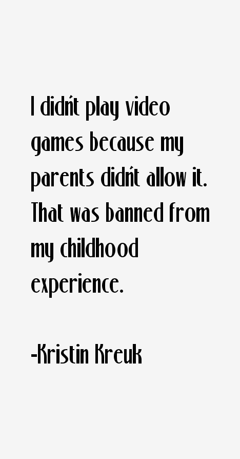 Kristin Kreuk Quotes
