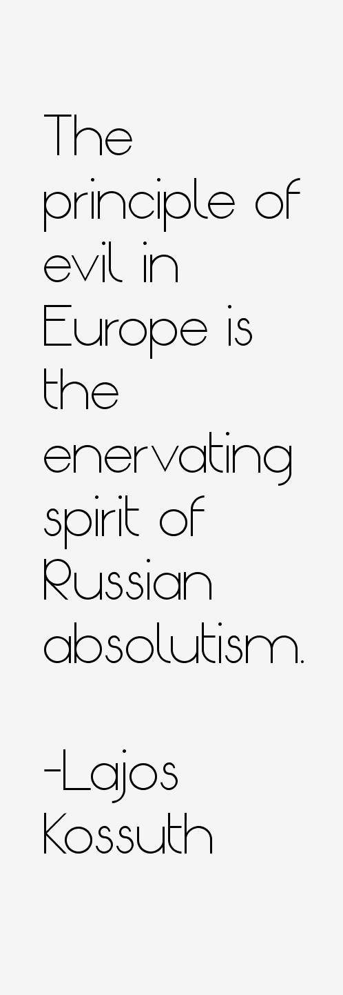 Lajos Kossuth Quotes