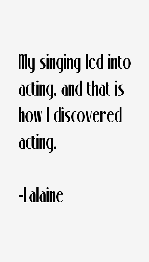 Lalaine Quotes
