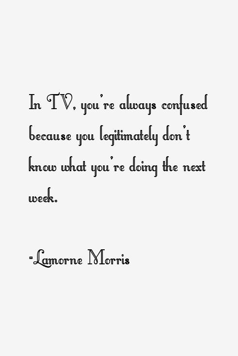 Lamorne Morris Quotes