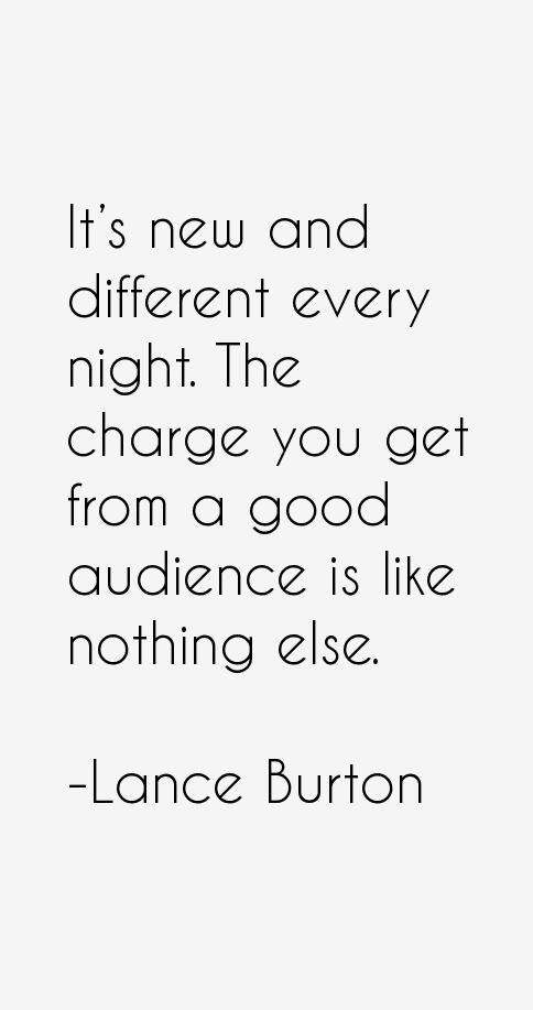 Lance Burton Quotes