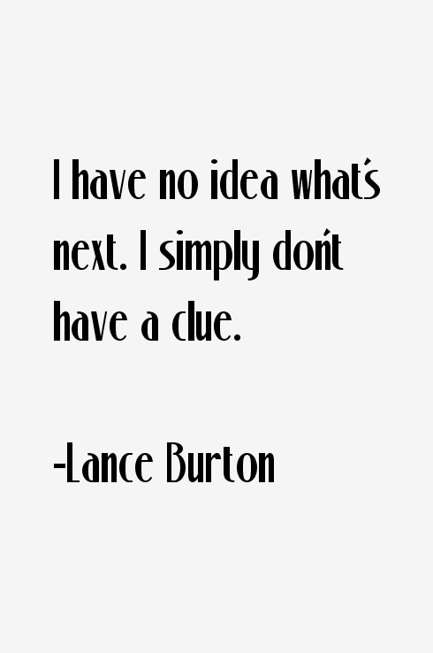 Lance Burton Quotes
