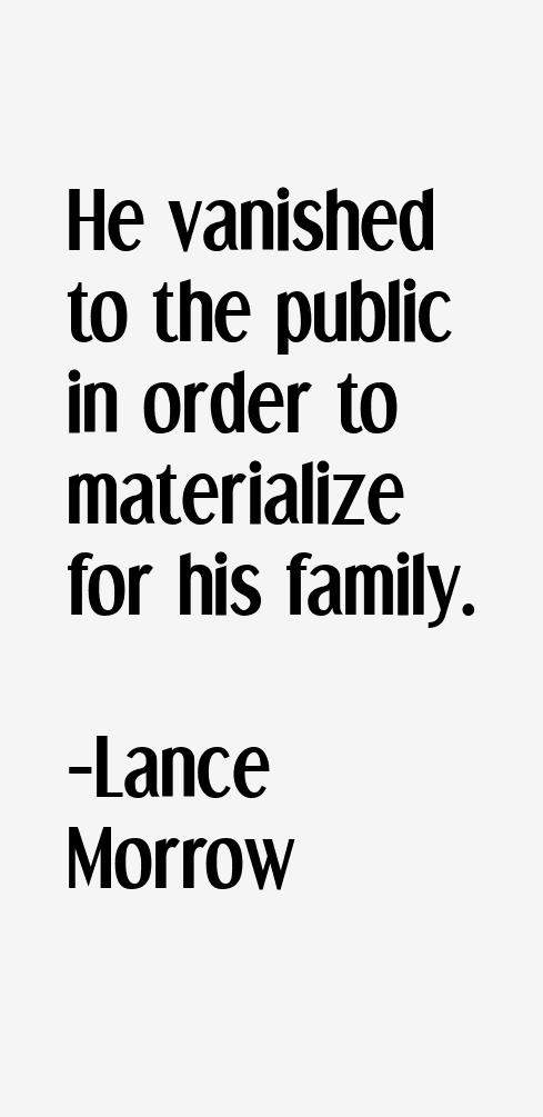 Lance Morrow Quotes