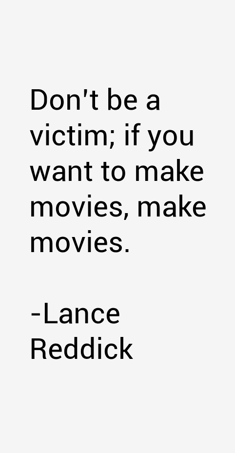 Lance Reddick Quotes