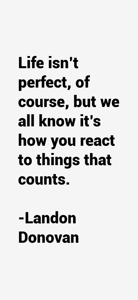 Landon Donovan Quotes