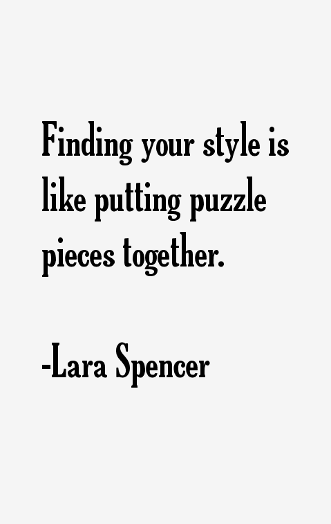 Lara Spencer Quotes