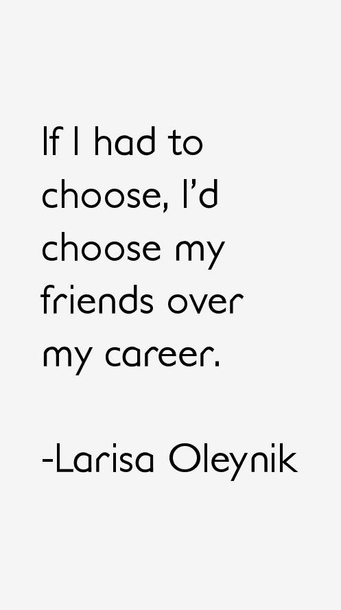 Larisa Oleynik Quotes