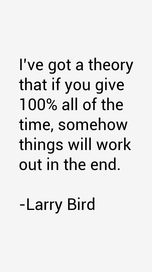 Larry Bird Quotes