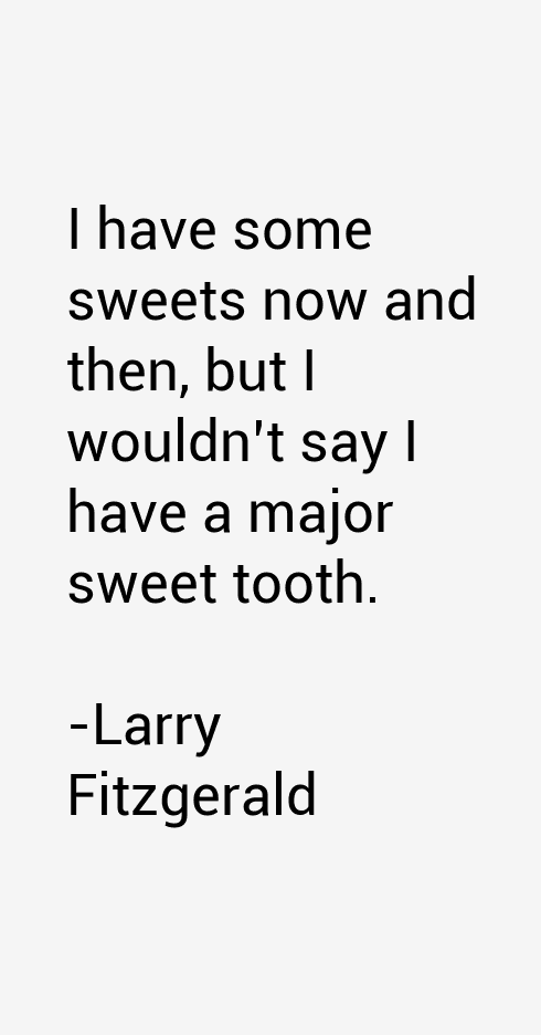 Larry Fitzgerald Quotes
