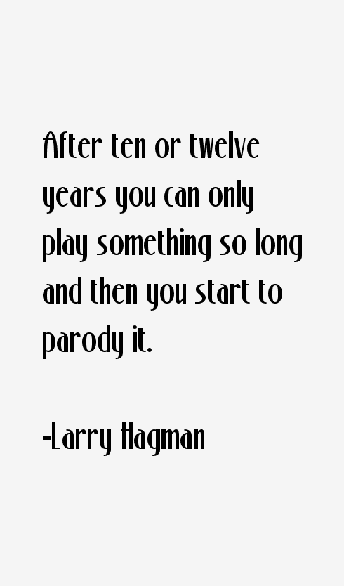 Larry Hagman Quotes