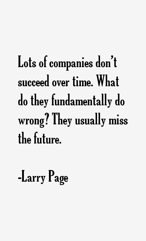 Larry Page Quotes & Sayings