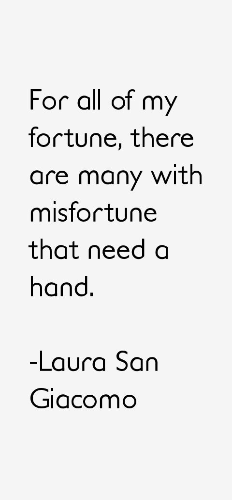 Laura San Giacomo Quotes