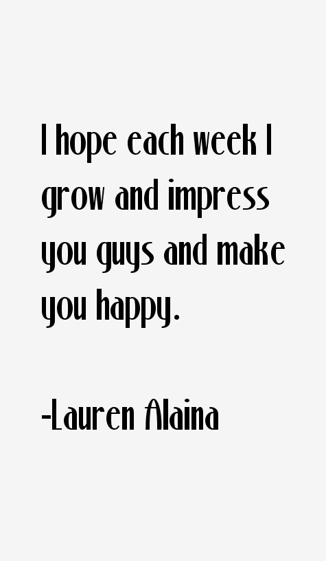 Lauren Alaina Quotes