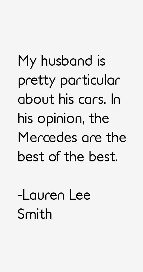 Lauren Lee Smith Quotes