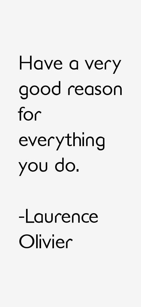 Laurence Olivier Quotes
