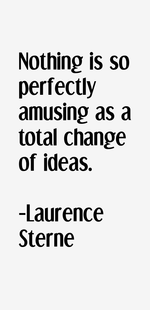 Laurence Sterne Quotes