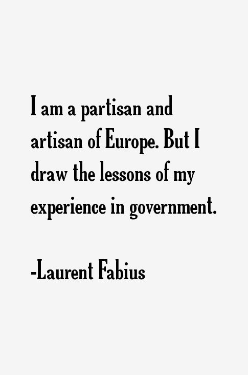 Laurent Fabius Quotes