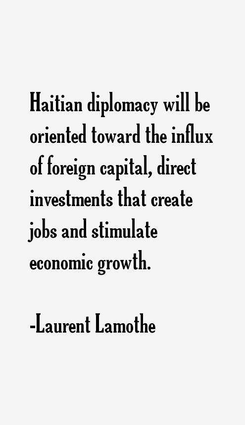 Laurent Lamothe Quotes