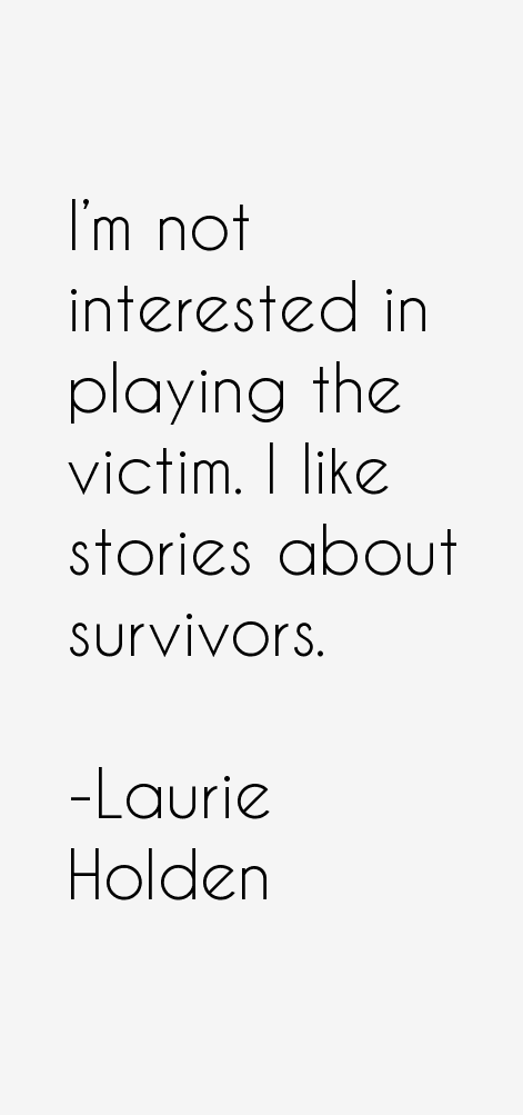 Laurie Holden Quotes