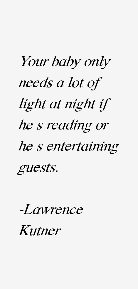 Lawrence Kutner Quotes