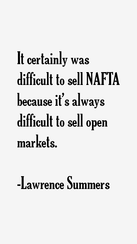 Lawrence Summers Quotes