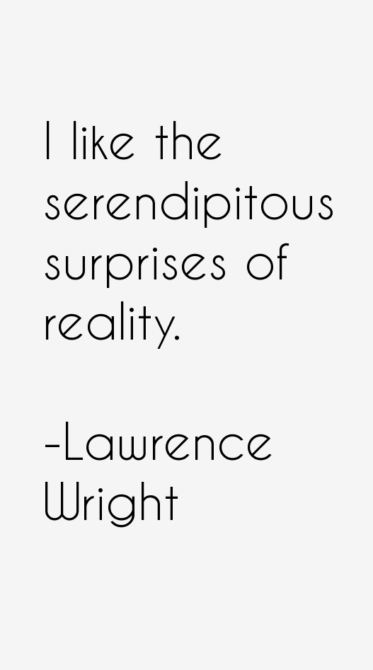 Lawrence Wright Quotes