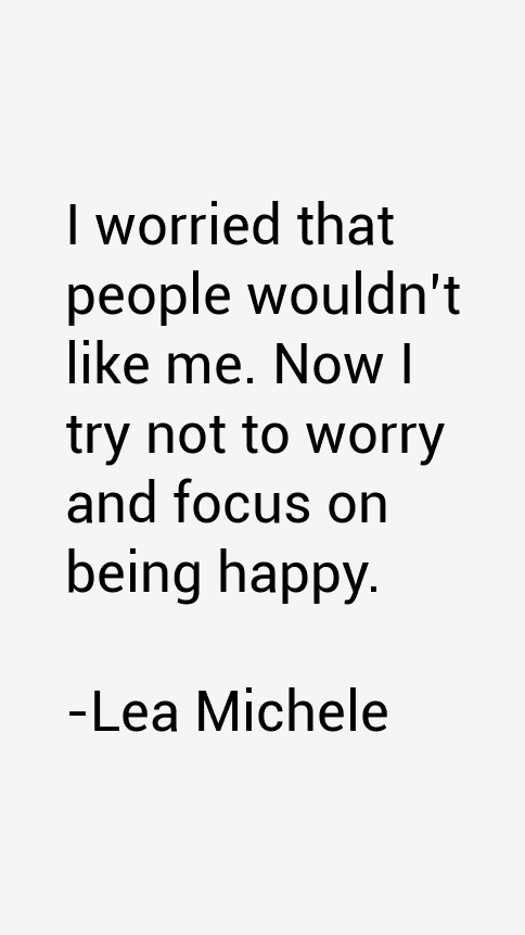 Lea Michele Quotes