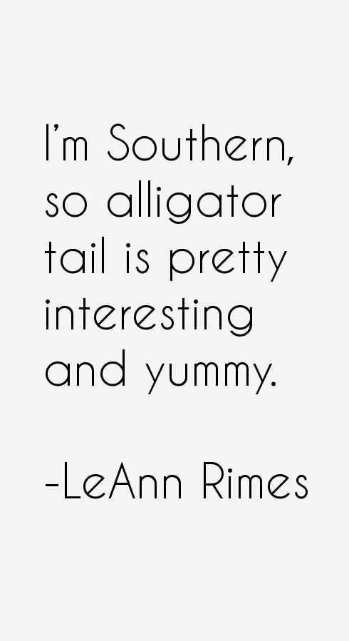 LeAnn Rimes Quotes