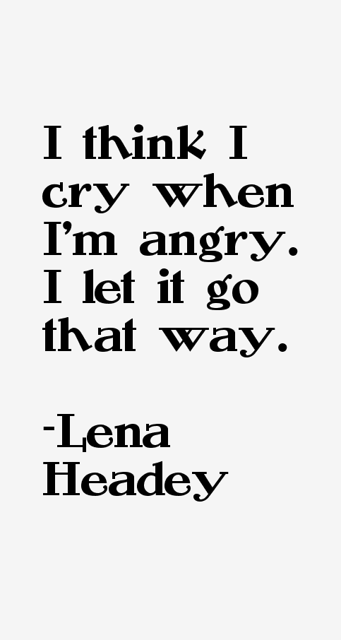 Lena Headey Quotes