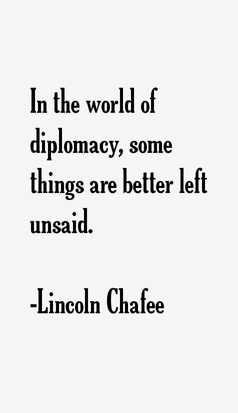 Lincoln Chafee Quotes & Sayings