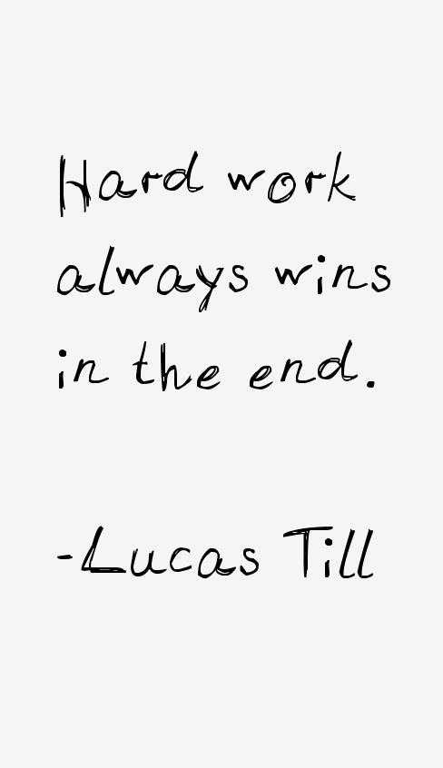 Lucas Till Quotes