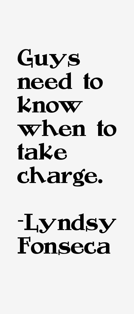 Lyndsy Fonseca Quotes