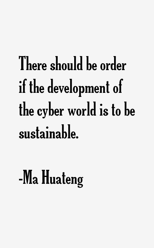 Ma Huateng Quotes