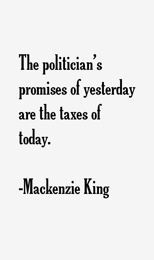 Mackenzie King Quotes
