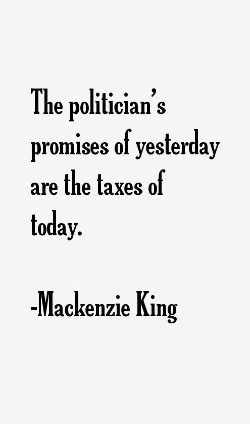 Mackenzie King Quotes