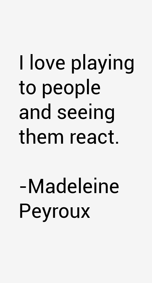 Madeleine Peyroux Quotes