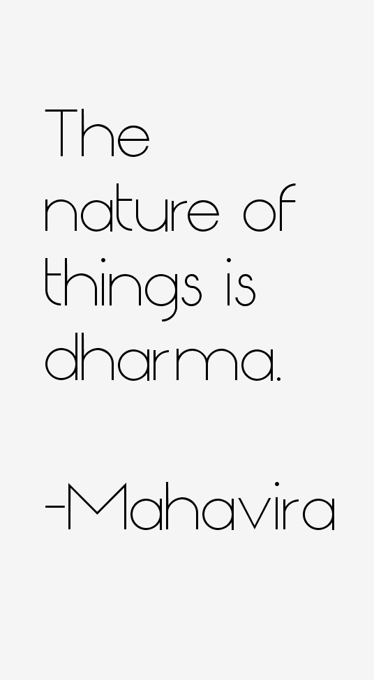 Mahavira Quotes