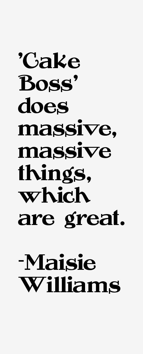 Maisie Williams Quotes