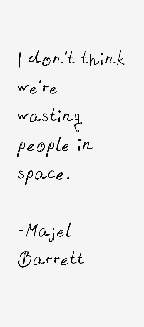Majel Barrett Quotes