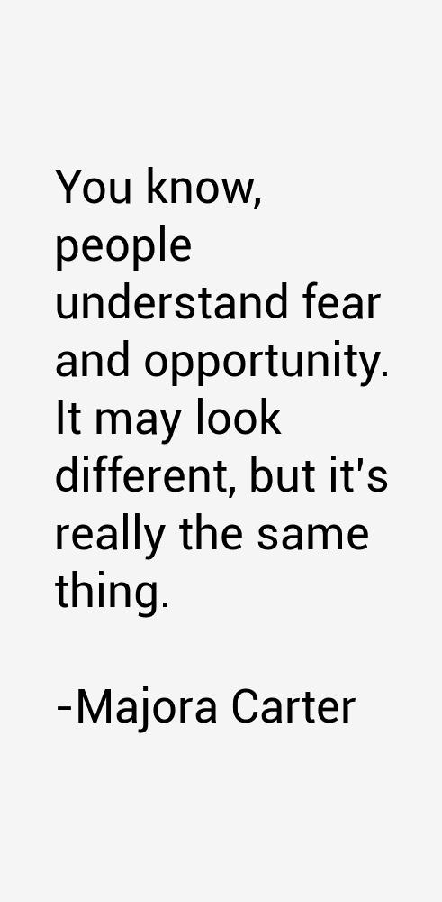 Majora Carter Quotes