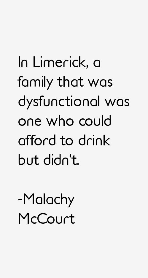 Malachy McCourt Quotes