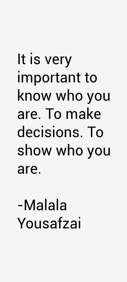 Malala Yousafzai Quotes
