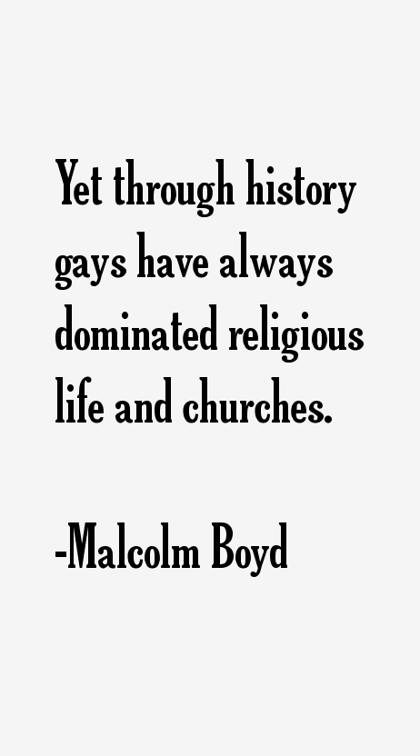 Malcolm Boyd Quotes