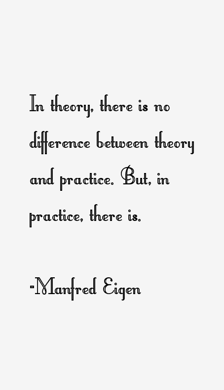 Manfred Eigen Quotes