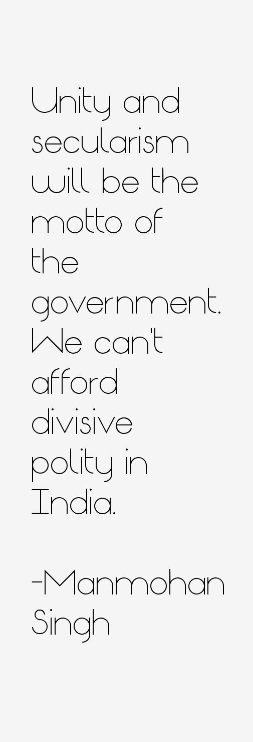 Manmohan Singh Quotes